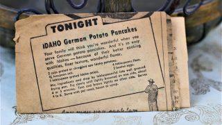 Idaho German Potato Pancakes