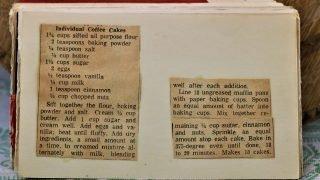 Individual Coffee Cakes