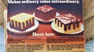 Jello Pudding Stripe it Rich Cake
