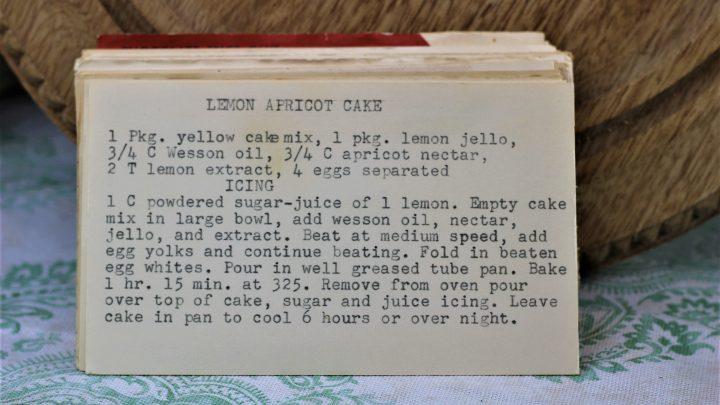 Lemon Apricot Cake e1543362950819