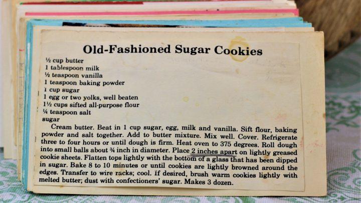 Old Fashioned Sugar Cookies e1543363239469
