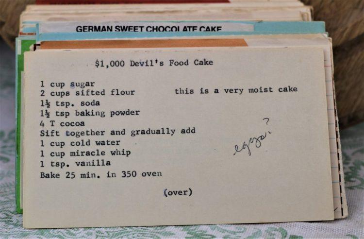 $1,000 Devils Food Cake