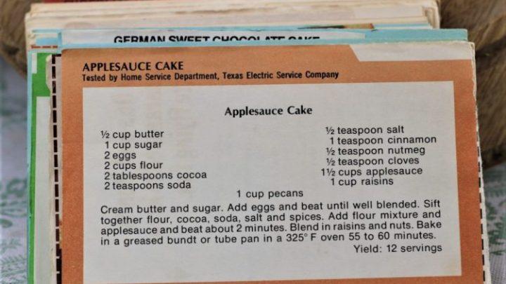 Applesauce Cake e1544303793763