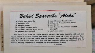 Baked Spareribs Aloha