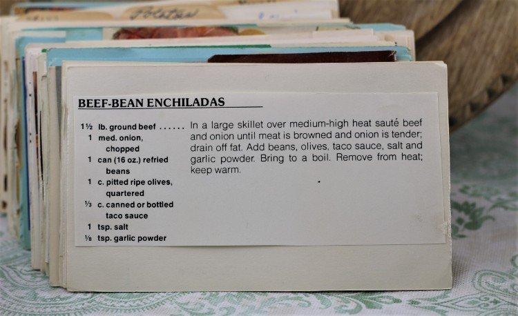 Beef Bean Enchiladas