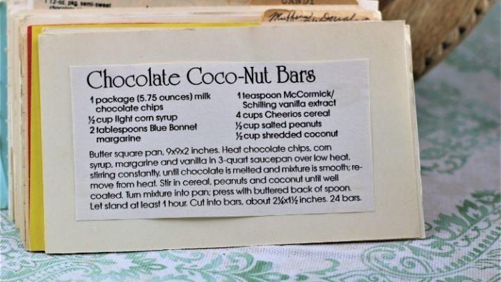 Chocolate Coco Nut Bars