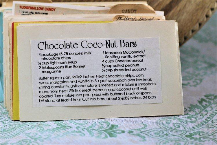 Chocolate Coco-Nut Bars