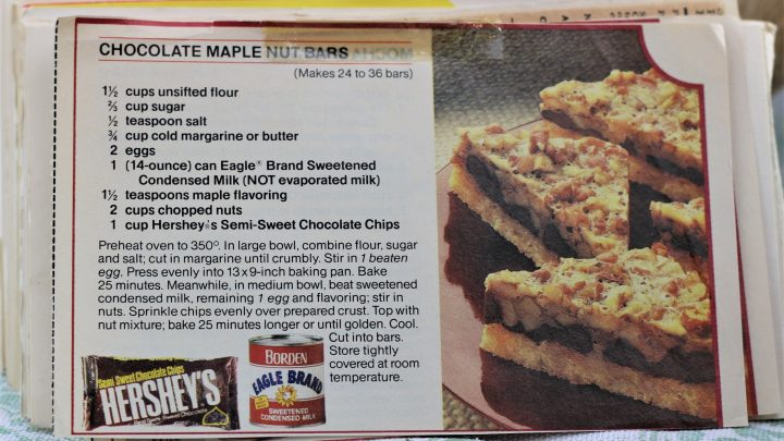 Chocolate Maple Nut Bars e1544641373682