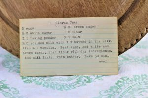 Clara's Cake