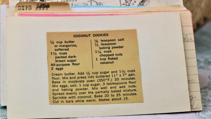 Coconut Cookies e1543964979996