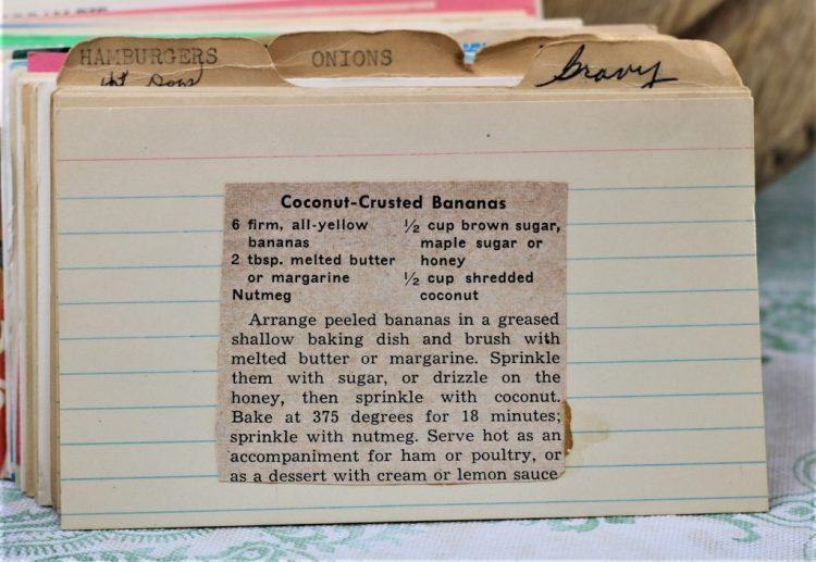 Coconut Crusted Bananas