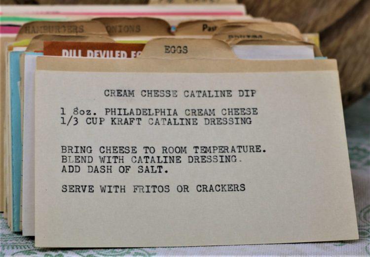 Cream Cheese Catalina Dip