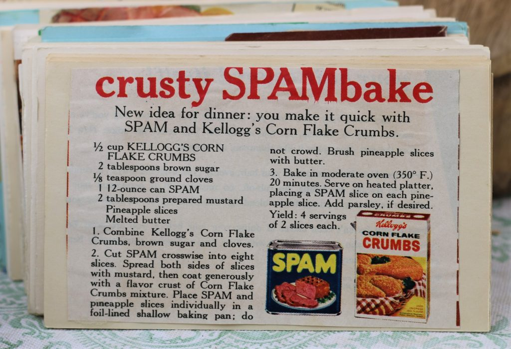 Crusty SPAMBake