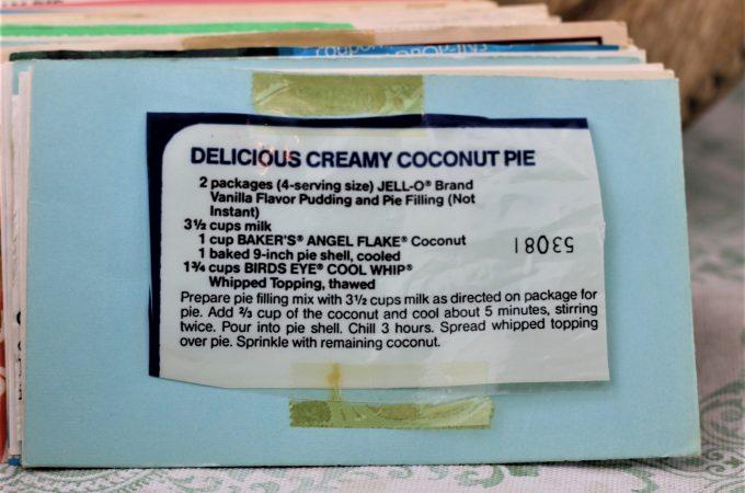 Delicious Creamy Coconut Pie
