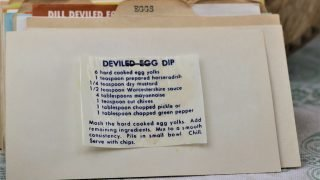 Deviled Egg Dip