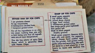 Deviled Ham Dip for Chips