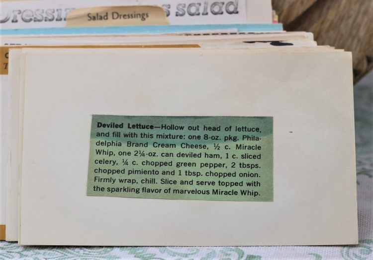 Deviled Lettuce