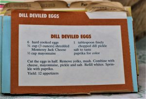 Dill Deviled Eggs