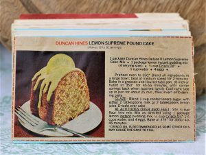 Duncan HInes Lemon Supreme Pound Cake