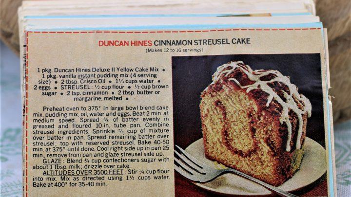 Duncan Hines Cinnamon Struesel Cake e1544301057360