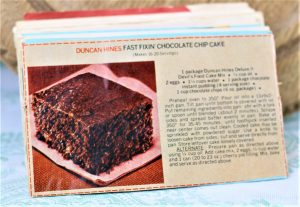 Duncan Hines Fast Fixin Chocolate Chip Cake