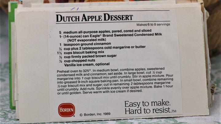 Dutch Apple Dessert e1544640040796