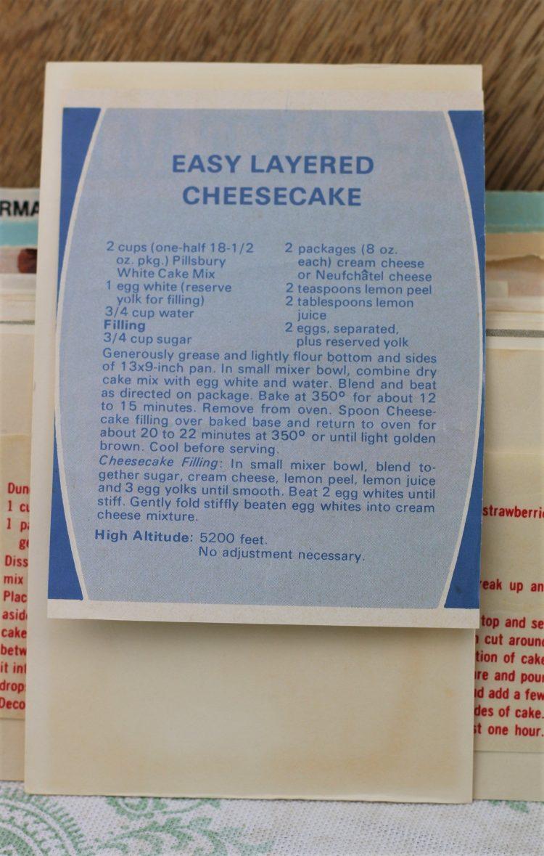 Easy Layered Cheesecake