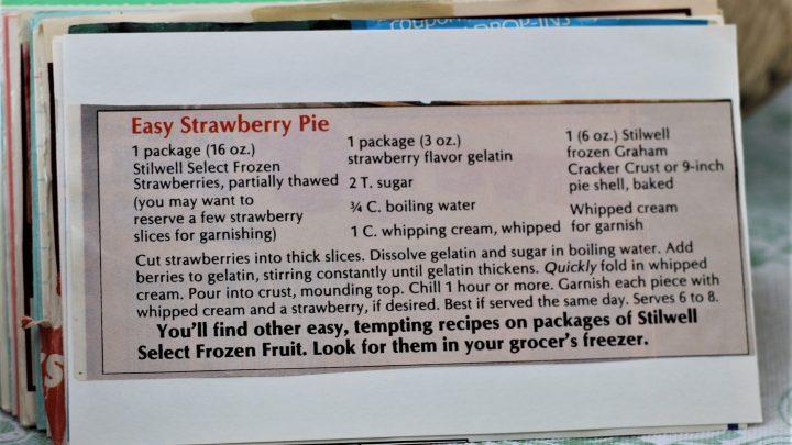 Easy Strawberry Pie e1544304057102