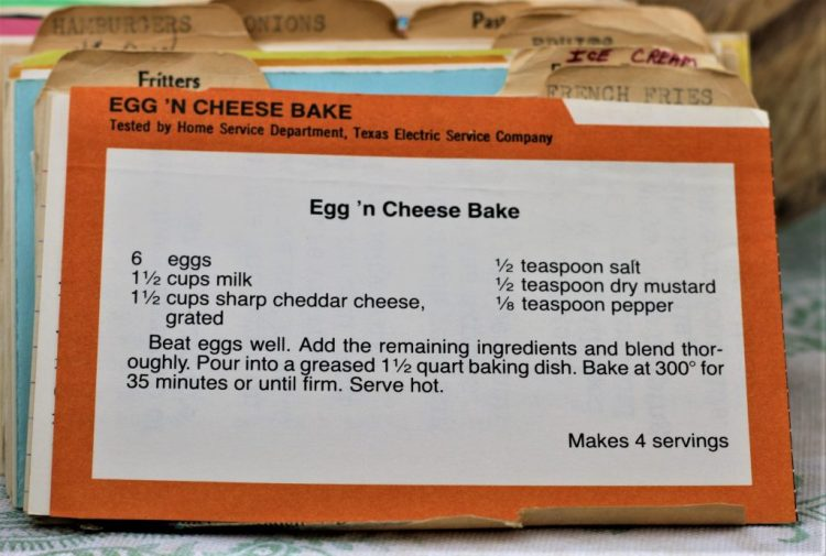 Egg n Cheese Bake