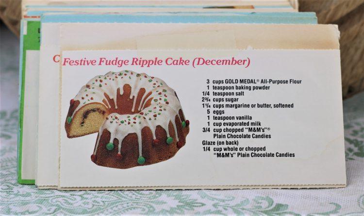 Festive Fudge Ripple Cake Recipe