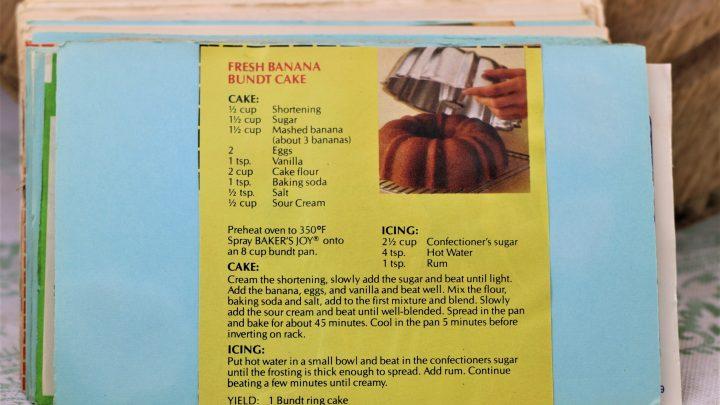 Fresh Banana Bundt Cake e1544633834444