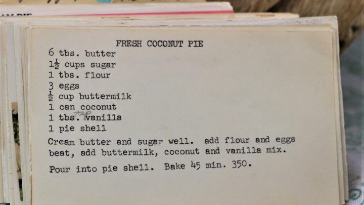Fresh Coconut Pie e1543979882881