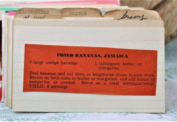 Fried Bananas Jamaica