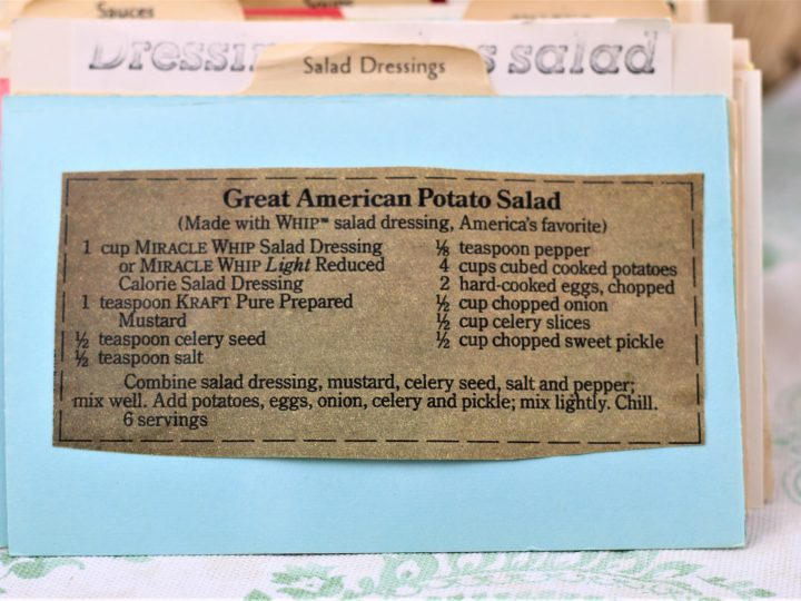 Potato Salad Recipe Kraft
