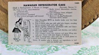 Hawaiian Refrigerator Cake
