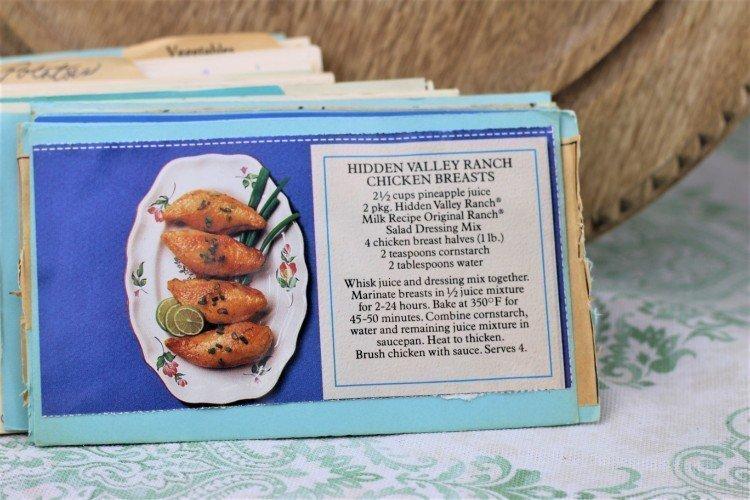 Hidden Valley Ranch Chicken Breasts