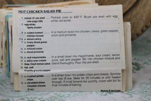Hot Chicken Salad Pie