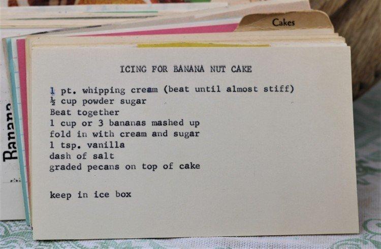 Icing for Banana Nut Cake