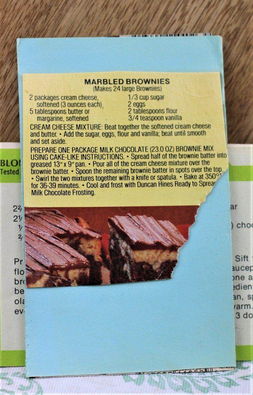Marbeled Brownies