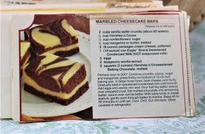 Marbled Cheesecake Bars