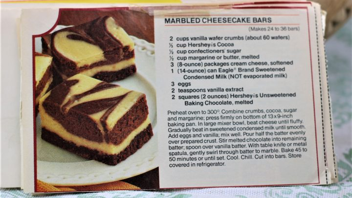 Marbeled Cheesecake Bars e1544156592583