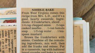 Noodle Bake