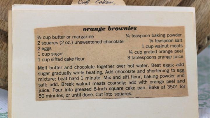 Orange Brownies e1544642240645