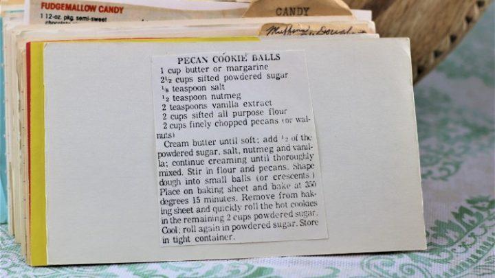 Pecan Cookies Balls