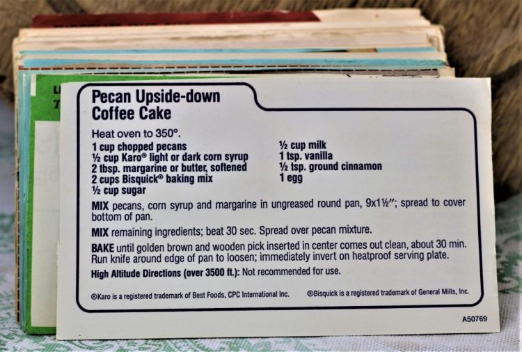 Pecan Upside Down Coffee Cake