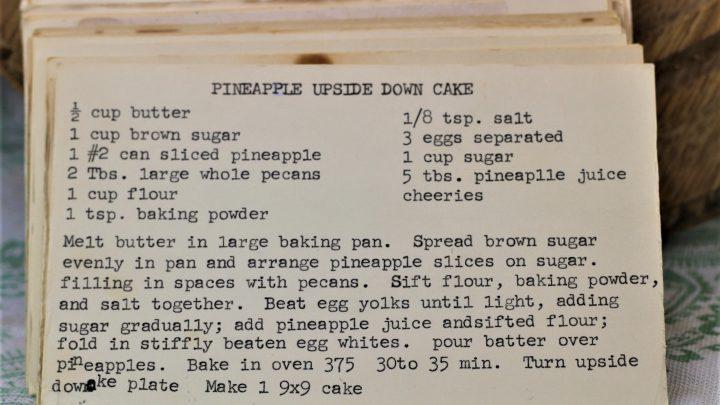 Pineapple Upside Down Cake e1543796240205