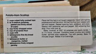 Potato Ham Scallop