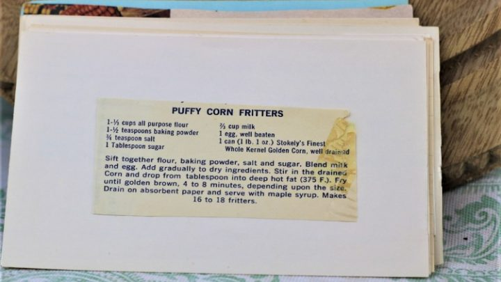 Puffy Corn Fritters
