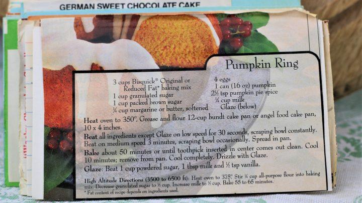 Pumpkin Ring Recipe 1 e1544638303629