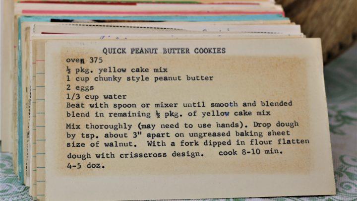 Quick Peanut Butter Cookies e1543795686459